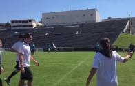 Cam Newton smokes a kickball home run