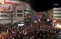 Cavaliers fans take over the streets of Cleveland