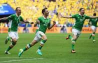Republic of Ireland score beautiful goal against Sweden