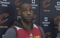 LeBron James not concerned with Las Vegas odds on NBA Finals