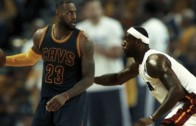 LeBron James plays against himself