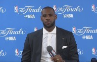 LeBron James speaks on the Cavs being down 2-0 in the NBA Finals