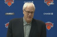 Phil Jackson speaks on the Derrick Rose Trade