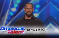 Philadelphia Eagles long snapper Jon Dorenbos competes on America's Got Talent