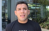 Rafael dos Anjos doesn't see Conor McGregor beating Nate Diaz at UFC 202