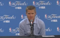 Steve Kerr speaks on the Warriors being stunned