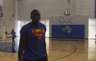 Victor Oladipo imitates Steph Curry & Russell Westbrook