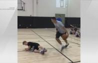 Aaron Gordon's Crossover Sends Kid to Floor