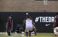 Andre Drummond gets crowned twice in Drew League game