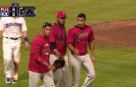 Baseball Brawl Breaks Out with Boulders vs Jackals of the Can-Am League