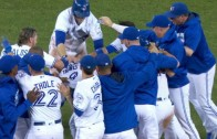 Blue Jays win wild comeback on Wild Pitch in the 12th Inning