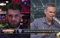 Bryce Harper explains his decision to skip the Home Run Derby