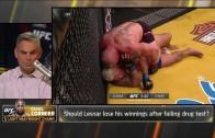Daniel Cormier talks Brock Lesnar's positive test