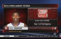 "Jamal Crawford calls NBA Free Agency ""Christmas in July"""