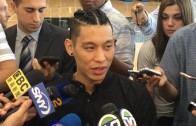 Jeremy Lin shows up to Brooklyn Nets interviews with Braids