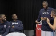 Kevin Durant, Kyrie Iriving, & DeMarcus Cousins Play Taboo Against GQ