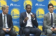 """Kevin Durant says leaving OKC was """"Hardest Thing I Had To Do"""""""