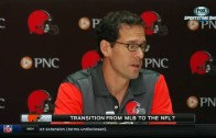 Paul DePodesta explains transition from MLB exec to NFL exec