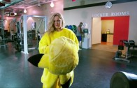 Ronda Rousey trains in Pikachu costume