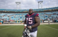 Vince Wilfork behind the scenes at ESPN's body issue photoshoot
