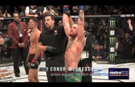 Audio of what Conor McGregor said to Nate Diaz after UFC 202