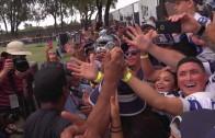 Denzel Washington visits Cowboys Training Camp