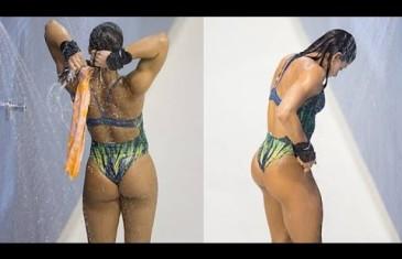 Gorgeous Brazillian diver Ingrid Oliveira
