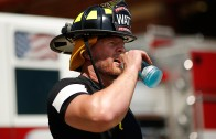 JJ Watt returns to Wisconsin to train with Fire Fighters