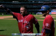 Josh Donaldson blasts 3 homers for the Hat Trick in Toronto