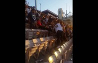 Massive brawl breaks out between Rams & Cowboys fans