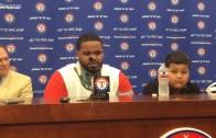 Prince Fielder's emotional goodbye press conference to baseball