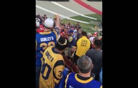 Rams & Chiefs fan get into violent brawl in the stands