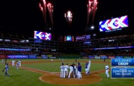 Rougned Odor blasts two run walk off homer for the Rangers