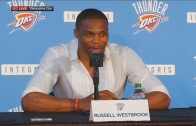 Russell Westbrook on Kevin Durant Signing with Warriors
