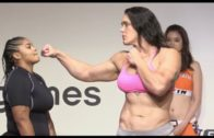 245 pound female MMA fighter Gabi Garcia is a monster
