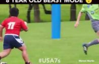 Amazing rugby play by Beast Mtawarira & Anton Bresler  (Throwback Thursday)