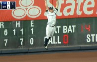 Brett Gardner makes outstanding catch to save a Yankees victory