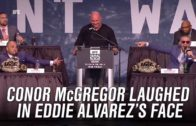 Conor McGregor predicts first round KO of Eddie Alvarez at UFC 205