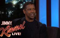 Denzel Washington speaks on giving the Dallas Cowboys pep talks