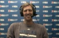 Dirk Nowitzki speaks on the Mavs upcoming season & retirement