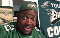 Eagles fan EDP with a hilarious reaction to the Sam Bradford trade