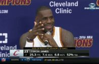 LeBron James speaks on raising his son in the current police climate
