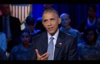 President Obama discusses Colin Kaepernick's anthem protest