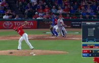 Rangers pitcher Nick Martinez makes unbelievable snag