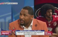 Ray Lewis wouldn't make Colin Kaepernick the face of police brutality