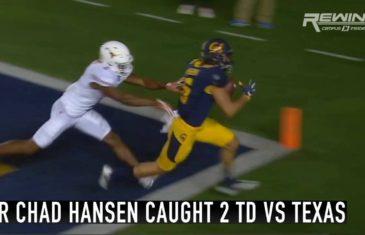 Savage: California wide receiver Chad Hansen trolls Texas