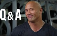 The Rock answers fan questions from YouTube