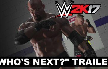 "WWE 2K17 ""Who's Next?"" Trailer featuring Goldberg & Brock Lesnar"