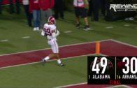 Alabama's Minkah Fitzpatrick takes interception 100-Yards for TD