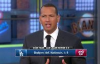 Alex Rodriguez breaks down the Dodgers Game 1 win over the Nationals